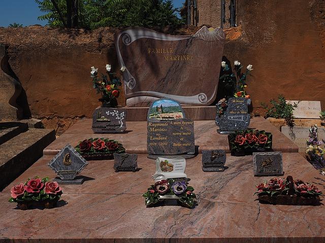 Que faut- il écrire sur une plaque funéraire?