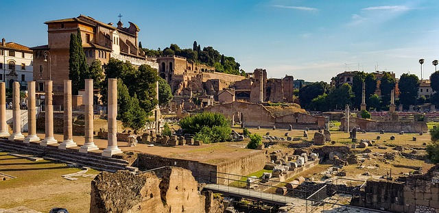 Le forum Palatin