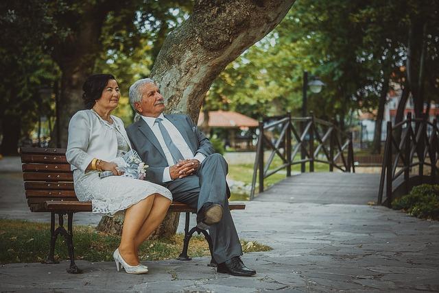 Le mariage des séniors